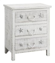 Seaside Sand 3 Drawer Chest Product Image