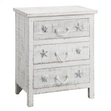 Seaside Sand 3 Drawer Chest