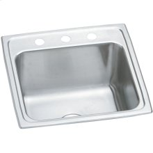 "Elkay Pursuit Stainless Steel 19-1/2"" x 19"" x 10-3/16"", Single Bowl Drop-in Laundry Sink"