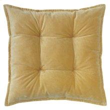 Talia Velvet Pillow, CAMEL, 20X20