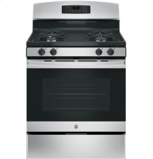 "GE® 30"" Free-Standing Gas Range-No blemishes-Ready to cook"