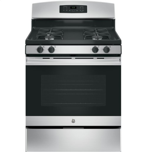 """GE® 30"""" Free-Standing Gas Range-No blemishes-Ready to cook"""
