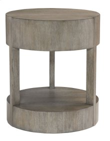 Calder Nightstand in Rustic Gray