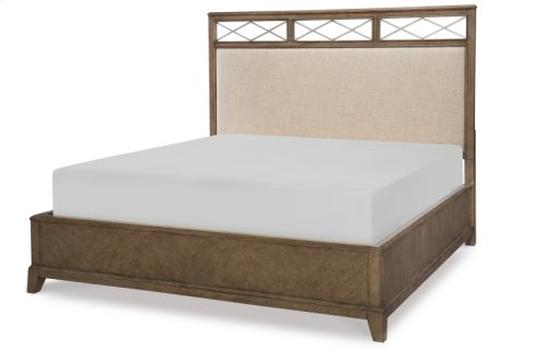 Apex Completed Upholstered Platform Bed, King 6/6
