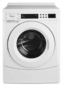 """27"""" Commercial High-Efficiency Energy Star-Qualified Front-Load Washer, Non-Vend"""