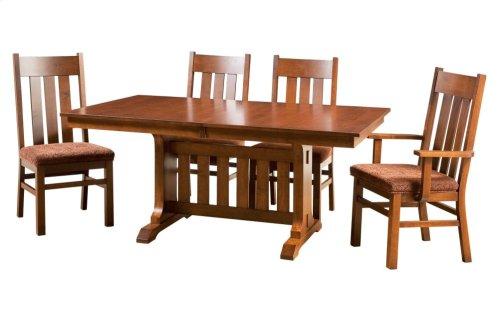 "42/68-2-12"" Rectangular Trestle Table Base #2"