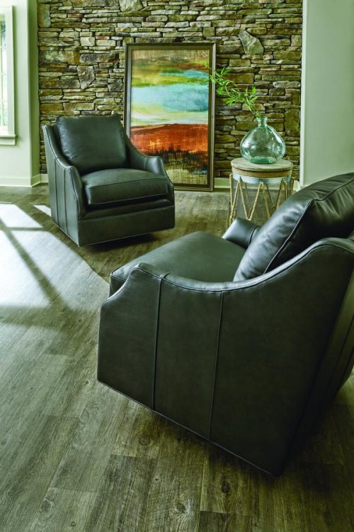 Shannon Swivel Glide Chair