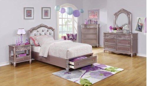 Twin Storage Bed