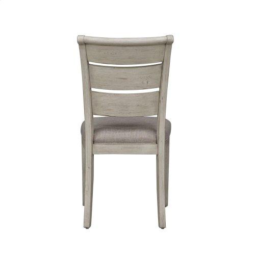 Ladder Back Uph Side Chair (RTA)