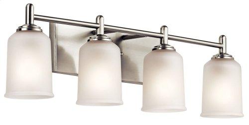 Shailene 4 Light Vanity Light Brushed Nickel