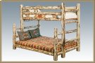 Montana Log Twin over Full Bunkbed Product Image