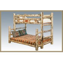 Montana Log Twin over Full Bunkbed