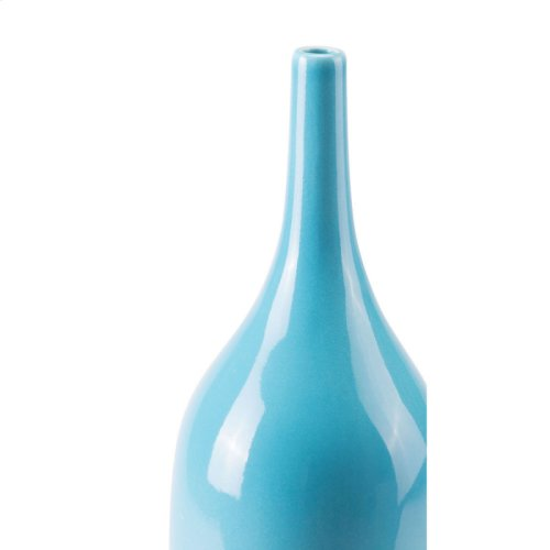 Turquoise Tall Vase Turquoise