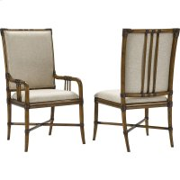 Amalie Bay Bamboo Arm and Side Chairs Product Image