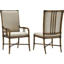 Amalie Bay Bamboo Arm and Side Chairs
