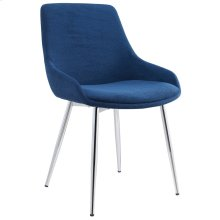 Cassidy Side Chair in Blue, 2pk