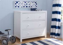 3 Drawer Dresser - Bianca (130)