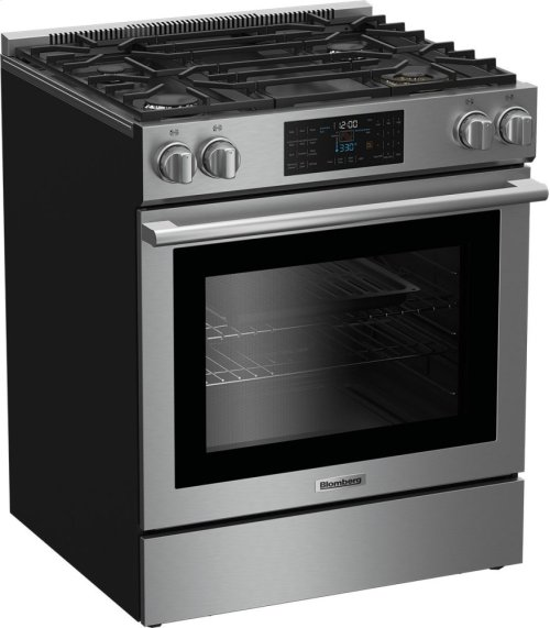 "30"" gas range with self clean 4 burner, 1 x 18,000BTU"