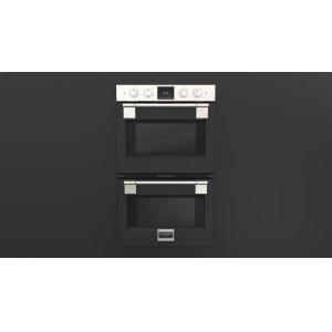 """Fulgor Milano30"""" Pro Double Oven - Matte Black"""