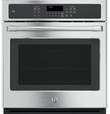 "GE Café Series 27"" Built-In Single Convection Wall Oven"