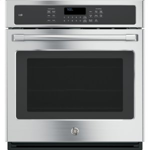 "GE Cafe27"" Built-In Single Convection Wall Oven"