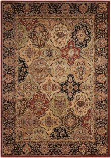 Lumiere Ki601 Multicolor Rectangle Rug 5'3'' X 7'5''