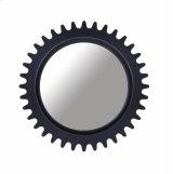 Epicenters Williamsburg Round Mirror - Black Product Image