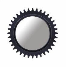Epicenters Williamsburg Round Mirror - Black