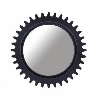 Epicenters Williamsburg Round Mirror - Black Product Image