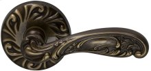 Interior Ornate Lever Latchset in (SB Shaded Bronze, Lacquered)