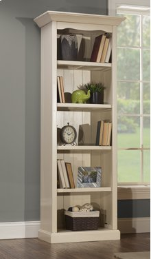Tuscan Retreat® Small Bookcase - K/d - Ctn B - Solid Country White
