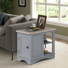 Americana Modern Dove Chairside Table
