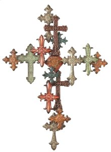 Multiple Cross Wall Decor.
