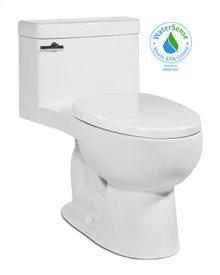 White RIOSE One-Piece Toilet 1.28gpf, Elongated