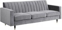 """Lola Velvet Sofa - 85"""" W x 35"""" D x 33.5"""" H"""