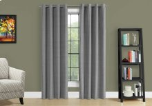 "CURTAIN PANEL - 2PCS / 52""W X 95""H GREY SOLID BLACKOUT"