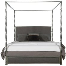King-Sized Dominic Canopy Bed