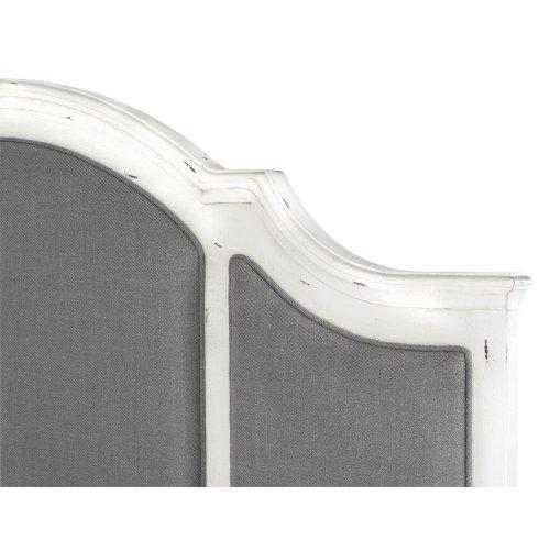 Emerald Home B312-10-k Bordeaux Queen Bed, Antique White