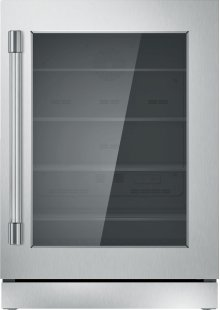 24 inch UNDER-COUNTER GLASS DOOR REFRIGERATION T24UR920RS