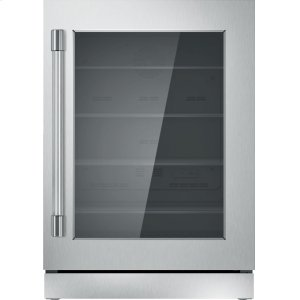 THERMADOR24 inch UNDER-COUNTER GLASS DOOR REFRIGERATION T24UR920RS