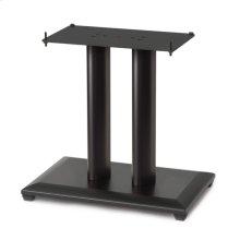"Black 18"" Natural Series Wood Pillar Speaker Stand - Single"