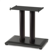 "Black 18"" Natural Series Wood Pillar Speaker Stand - Single"
