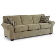Vail Fabric Three-Cushion Sofa