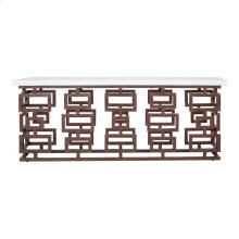 Ivey Outdoor Console Table