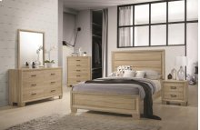 Queen 5 Piece Set (Q.BED,NS,DR,MR,CH)