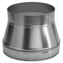 "10"" to 8"" Round Transition for Range Hoods and Bath Ventilation Fans"