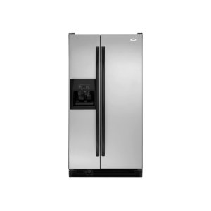 WhirlpoolSilver 21.8 Cu. Ft. Side-By-Side Refrigerator