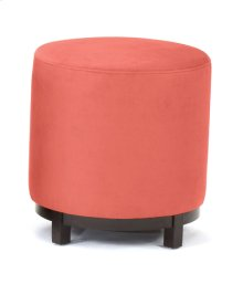 Red Round Foot Stool