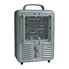 CZ798 Radiant Electric Wire Element Heavy Duty Fan-Forced Heater, White