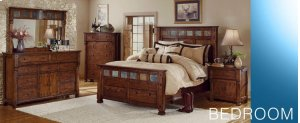 Santa Fe Queen Bed w/ Storage